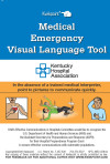 Kentucky Hospital Association English/Spanish Medical Emergency Visual Language Translator