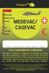 MEDEVAC/CASEVAC Visual Reference Guide