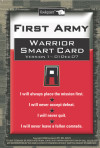 First Army Warrior Smart Card