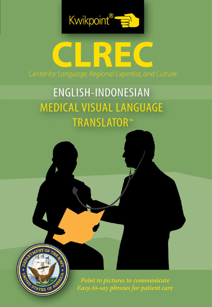 Clrec English Indoneasian Medical Translator Kwikpoint