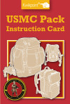 USMC Pack Instruction Card